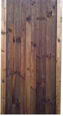 Fully framed closeboard gate