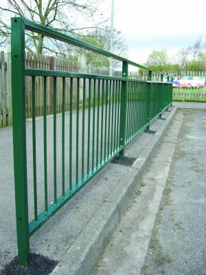 PC Pedestrian guard railings