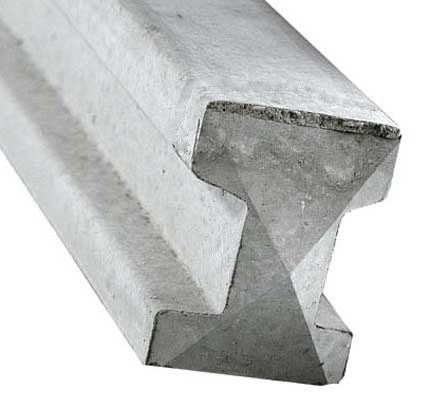Concrete Slotted ( 100mm X 100mm Section )