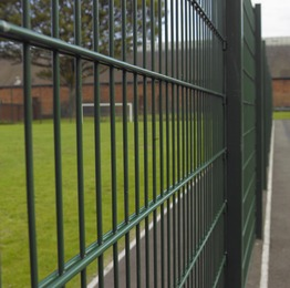 Twin wire mesh panels